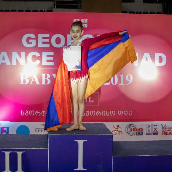 Հերթական հաղթանակը Թբիլիսիում կայացած պարարվեստի X միջազգային օլիմպիադայում էր